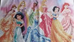 Painel das princesas Disney