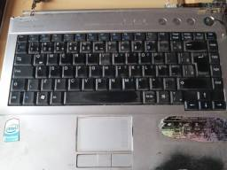 Placa e teclado