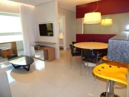 Apartamento mobiliado 3 quartos, 2 vagas, Sion, BH
