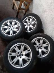 Vendo rodas completa aceito troca