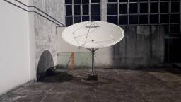 Antena Embrasat Fibra 2.6 metros