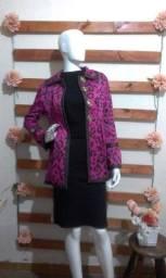 blazer longo, importado, conservado, tamanho 38 p