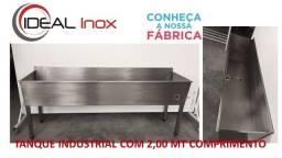 Tanque Industrial 100% Aço Inox