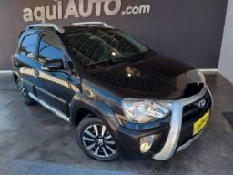 Toyota Etios Cross 1.5 2014 Preto Flex Econômico Emplacado Revisado