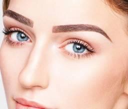 Modelo para Micropigmentação de sobrancelha