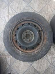 2 Roda de ferro r13