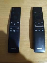 Vendo dois controles Samsung smart tv com comando de voz