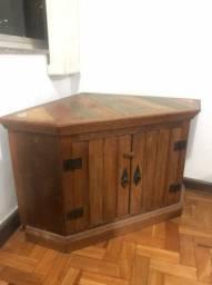 Móvel de canto (madeira de demolição)