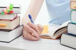 Acessória e revisão de trabalhos acadêmicos