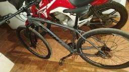 Bicicleta aro 29  ksw 21v freios a disco