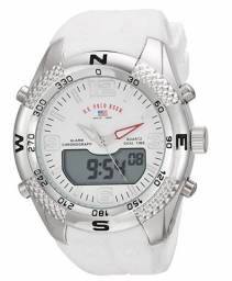 Relógio Masculino U.S. Polo Assn. Branco Modelo: US9663