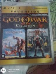 God of war collection (1 e 2 ) para ps3