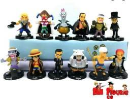 Anime One Piece Action figures - miniaturas colecionáveis
