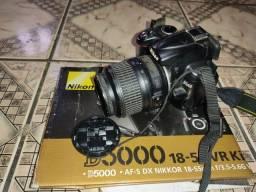 Câmera profissional Nikon d5000 + kit 55mm
