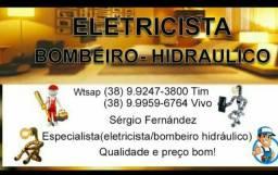 Eletricista Bombeiro hidráulico