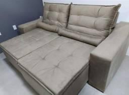 Título do anúncio: Mega Promoção!!! Sofá Retrátil e Reclinável Hellen Conforto e Qualidade - Só R$1.899,00