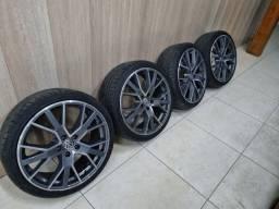 Título do anúncio: Rodas 5x112, Audi, VW, mercedes, Honda