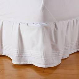 Saia para cama casal padrão Mmartan