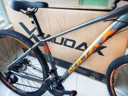 Bike Nova! Audax Havok Sx 29 Kit Shimano com Trava no Guidão (Quadro 17)!! Somente venda.