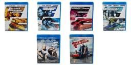 Coleção Blu Ray Velozes E Furiosos Coleção 1 - 6