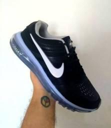 Tênis Nike Air Max Preto , número 40, 41, 42 e 43 27999686829