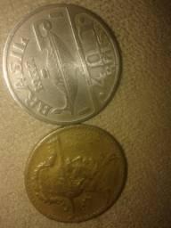 Vendo moedas antigas 40 reais