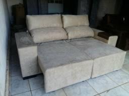 Sofa em promoção, retrátil e reclinável, rf-5757