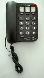 Telefone com fio numeros grandes