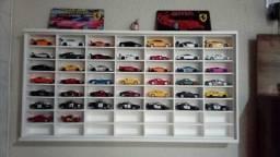 Coleção de carrinhos esportivos