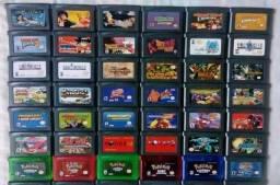 Coleção de cartuchos para Game Boy Advance