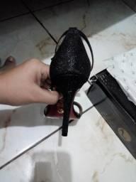 Sapato da sapatinho de luxo