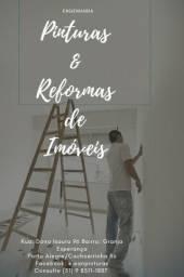 Pinturas e reformas de imóveis, Empresa com CNPJ e registro no CREA Rs