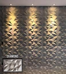 Placas de Gesso 3D - Diamond
