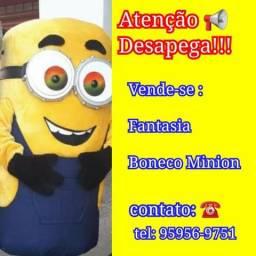 Fantasia Boneco Minion e Fantasia Boneco Jake o Pirata comprar usado  Polvilho, Cajamar