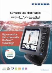 Eco sonda Furuno FCV-628 nova com nota fiscal