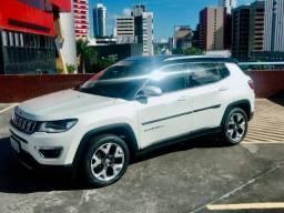 Jeep Compass Limited TOP aceito carta credito ou carro menor valor - 2018