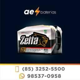 Bateria 60Ah com alto desempenho da marca Zetta