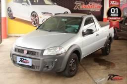 Fiat Strada Hard Working 1.4 Prata - 2018
