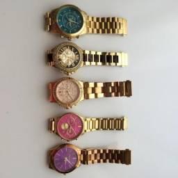 Coleção com 5 Relógios Michael Kors original