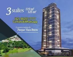 Celebrate vaca brava - bueno/jardim america 3 suites 119 a 121m (Ref.18)