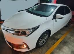 OPORTUNIDADE! Corolla Gli 2018, automático, branco com multimídia. - 2018