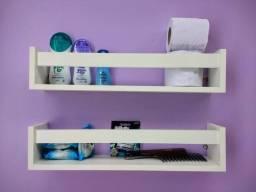 Kit peças de mdf, Suporte, Pasteleira para parede, sala, banheiro, quarto