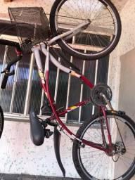 Bicicleta com cesta