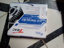 2 Kits tração YBR  relação da moto YBR 125