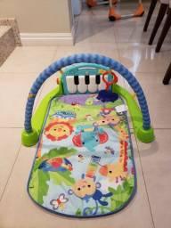 Tapete Estimulador De Bebê Musical Toca Piano Verde - Fisher Price