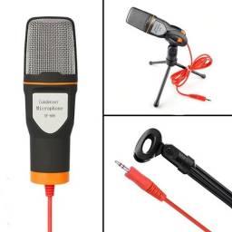 Microfone Plug P2 Estéreo Pc Notebook Ótimo Para Jogos