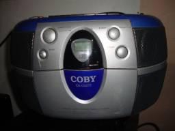 Viamão rs Radio toca fitas Gravador E Cd Player Coby Cx-cd272