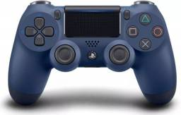 Controle Dualshock 4 Midnight Blue - PS4 ( Novo + Nota Fiscal + 12 Meses Garantia )