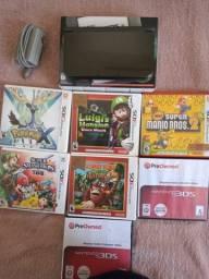 New Nintendo 3ds xl + 7 jogos