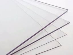 Placa de Acrílico Cristal 1000 x 500 x 2mm